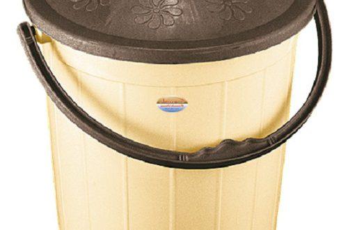 سطل زباله پلاستیکی خانگی ناصر