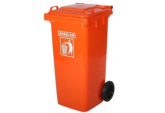 قیمت سطل زباله پلاستیکی سبلان