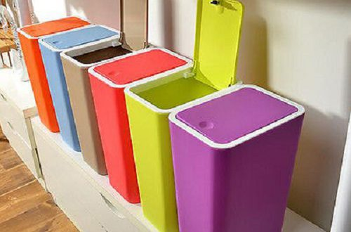 سطل زباله پلاستیکی آشپزخانه
