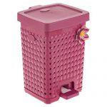 سطل زباله پدال دار پلاستیکی