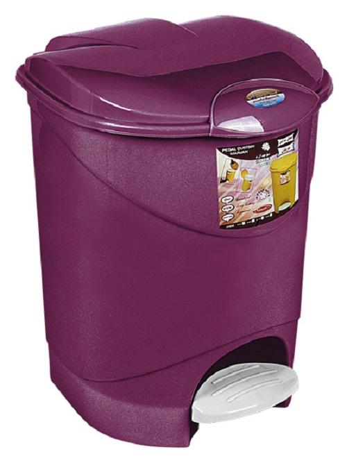 سطل زباله پلاستیکی پدالی آشپزخانه